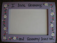 I LOVE GRAMMY- Grandma Mothers Day photo picture frame
