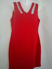 ***STUNNING***2x red black Ladies womens dress size 14 V.G.C (0.6)