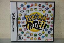 Nintendo DS Pokemon Trozei! BRAND NEW Y FOLD US