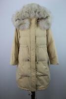 FFAN STYLE Beige Long Jacket Size EUR XS