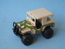 Matchbox Jeep 4x4 Sand Desert Army with Roof Toy Model Car 70mm