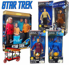 STAR TREK KEN & BARBIE + 4 MORE ACTION FIGURE COLLECTION