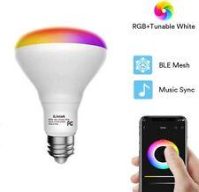 Smart Flood Light Bulb - Color Changing BR30 Flood Light Bulb 9W(65W Equivalent)