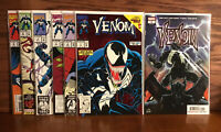 Marvel Comics Venom Lethal Protector 1-6 Series And Venom 1 From 2018 Series