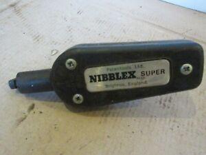 VINTAGE NIBBLEX SUPER SHEET METAL DRILL ATTACHMENT CUTTER