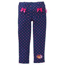 NWT Dora The Explorer Licensed Girls Spots Bows Pants Leggings Size 2