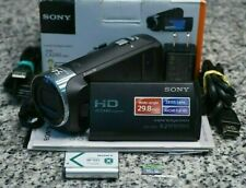 Sony HDR-CX240 Full HD 1080p 9.2MP Handycam Camcorder IN BOX W/ Extras Tested FS