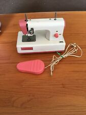 New ListingVintage Crystal Battery Operated Childs Sewing Machine Working