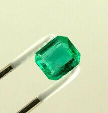 1.2 Carat Emerald Cut Natural Colombian Emerald Loose Gemstone