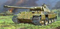 Zvezda 5010 - 1/72 Deutscher Pzkpfw. V Panther Ausf. D (Snap-Fit) - Neu