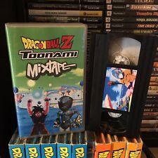 Dragon Ball Dragonball Z Toonami VHS Commercials SOLD AS BLANK Vol 1