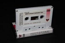 3000 Hz (3 kHz) Calibración de la velocidad de cinta de prueba para platina de cassette o Walkman C60