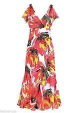 Kaleidoscope Chiffon Dresses Midi