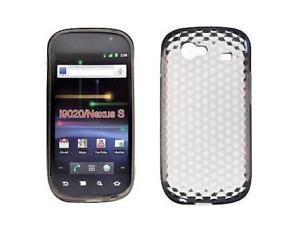 Coque Silicone Gel Noir Diamand ~ Samsung GT i9020 / i9023 Google Nexus S
