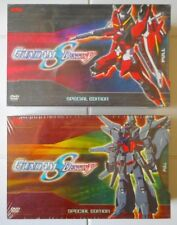 2 SEALED GUNDAM SEED DESTINY EXCLUSIVE T-SHIRTS SPECIAL EDITION VOLS 6 & 10 DVDS