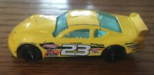 Hotwheels Yellow Circle Tracker Race Car