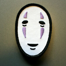 No Face Kaonashi Patch inspired by the anime spirited away hook & loop backing