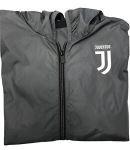 Giubbotto Windstopper Juventus Uff. XL Antivento grigio K-way Primavera Uomo