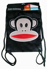 Paul Frank Black Plush Julius Sling Backpack Gym Bag