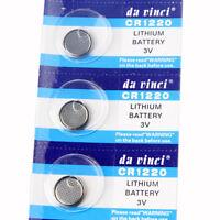 5pcs Cell Button Batteries CR1220 ECR1220 KCR1220 BR1220 3V Battery