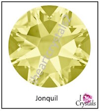 JONQUIL Yellow Swarovski 6.5mm 30ss Crystal 2058 Flatback Rhinestones 12 pieces