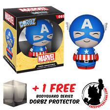 Funko - Figurine Marvel - Captain America Dorbz 8cm - 0849803059507
