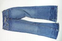 Levi's Levis Jeans 927 W27 L34 27/34 blau stonewashed Schlag Denim -C0891