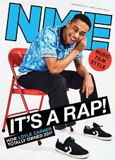 The New Musical Express 1 December 2017 Loyle Carner Front Cover NME n.m.e.
