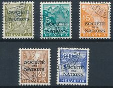 [56720] Switzerland Official good set Used Very Fine stamps