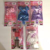 Daiso Japan Elly Chan Doll 2 Dresses Pink//Orange
