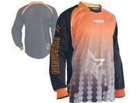 Derbystar Catari Goalkeeper Shirt orange Torwart Jersey Torhüter Trikot XL XXL