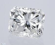 Radiant Cut Loose Real Diamond 100% Natural H VVS1 GIA Cert 1.00 Carat