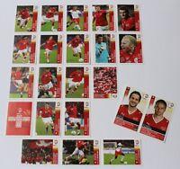 Panini EURO 2008 - Sondersticker P1 - P20 Schweiz + 2 x Update