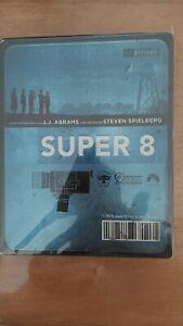 RARE !!! BLU RAY SUPER 8 STEELBOOK