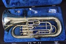 Yamaha YEP321 Euphonium Horn YEP 321 Baritone Case & Mouthpiece NICE CONDITION