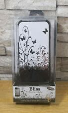 BLISS PHONE STYLE IPHONE 4 / 4S BUTTERFLY BLACK AND WHITE CASE & SCREEN COVER BN