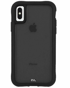 CaseMate Protection Collection Case for Apple iPhone X/Xs Translucent Black