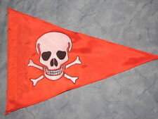 Custom Toxic Skull Safety Flag for  ATV UTV Jeep Recumbent Trike Bike Dune Whip