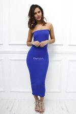 Vestiti da donna blu di lunghezza totale