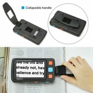 """5"""" LCD Portable Video Digital Magnifier Electronic Reading Aid for Low Vision GT"""