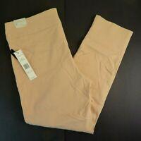 Larry Levine Women's Khaki, Slim, Ankle Length, Stretch Dress Pants, SZ XL, NWT