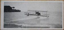 French Aviation 1912 Miniature/Novelty Postcard: Monaco, Hydroplane de Paulhan