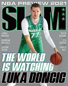 Luka Doncic Dallas Mavericks Slam Magazine Cover Photo - select size