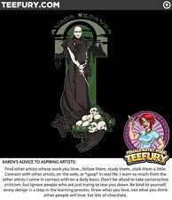 """Rise of the Purebloods"" Voldemort Teefury Shirt - Men's 2Xl"