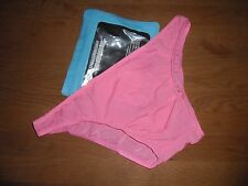 """Men's Large 32""""- 34"""" Pink Sexy Nylon Spandex Low Rise Briefs Lingerie Gay UK"""