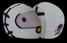 Hello Kitty Helmet Cover Motorcycle Full Face Skin Street Sport Bike Cat NEW +