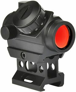2 MOA Tactical Red Dot Sight Micro Reflex Gun Rifle Sight Scope with Rail Mount