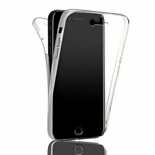 Front and Back Clear 360° Full protection Gel Cover Skin Case For iPhone 7/8 UK