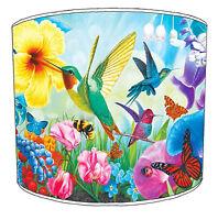 OISEAU abat-jour idéal correspond à Colibri autocollants murales coussins &