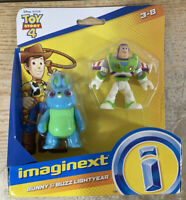 Fisher-Price Imaginext Toy Story Bunny & Buzz Lightyear Figures Mattel 2018